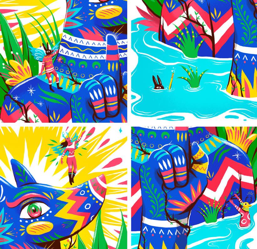 Las ilustraciones con extra de energía de Luis Pinto 5