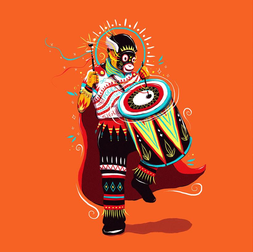 Las ilustraciones con extra de energía de Luis Pinto 9