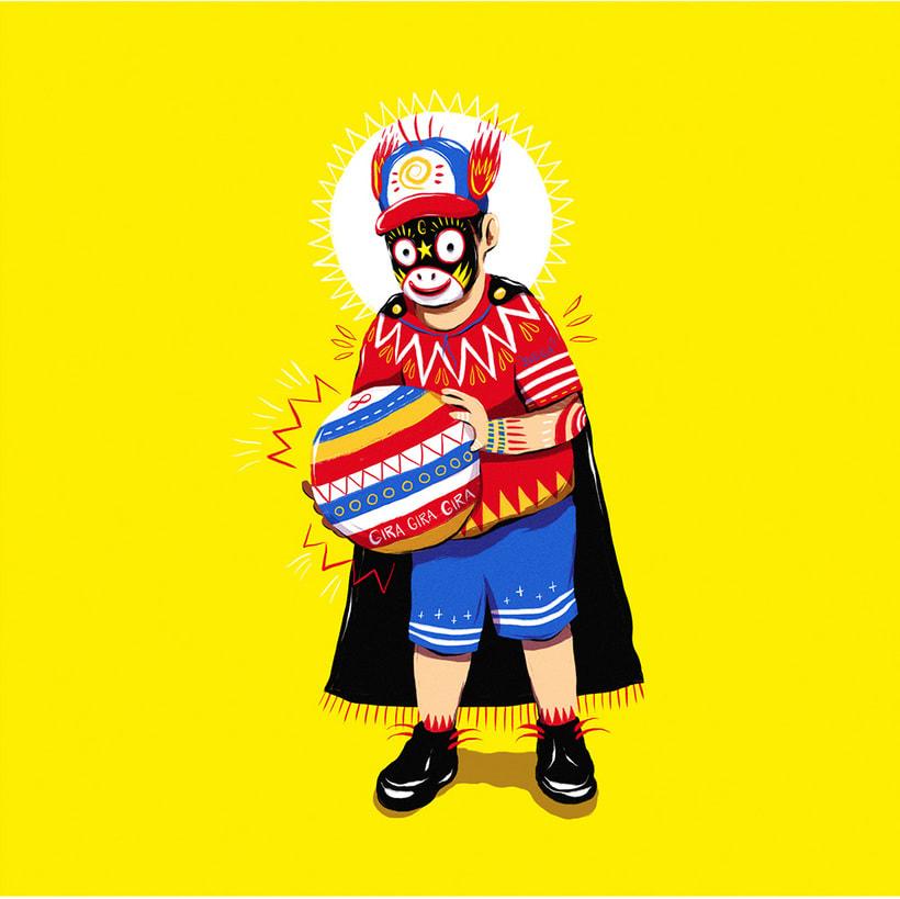 Las ilustraciones con extra de energía de Luis Pinto 10