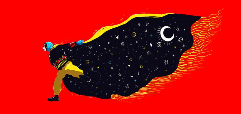 Las ilustraciones con extra de energía de Luis Pinto 11
