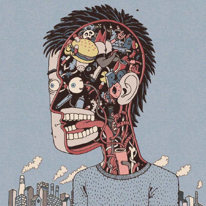 Ilustraciones con influencia pop de Nacho Rojo 11