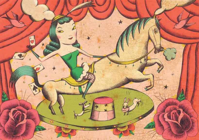 Sergio Mora hace magia ilustrada 1