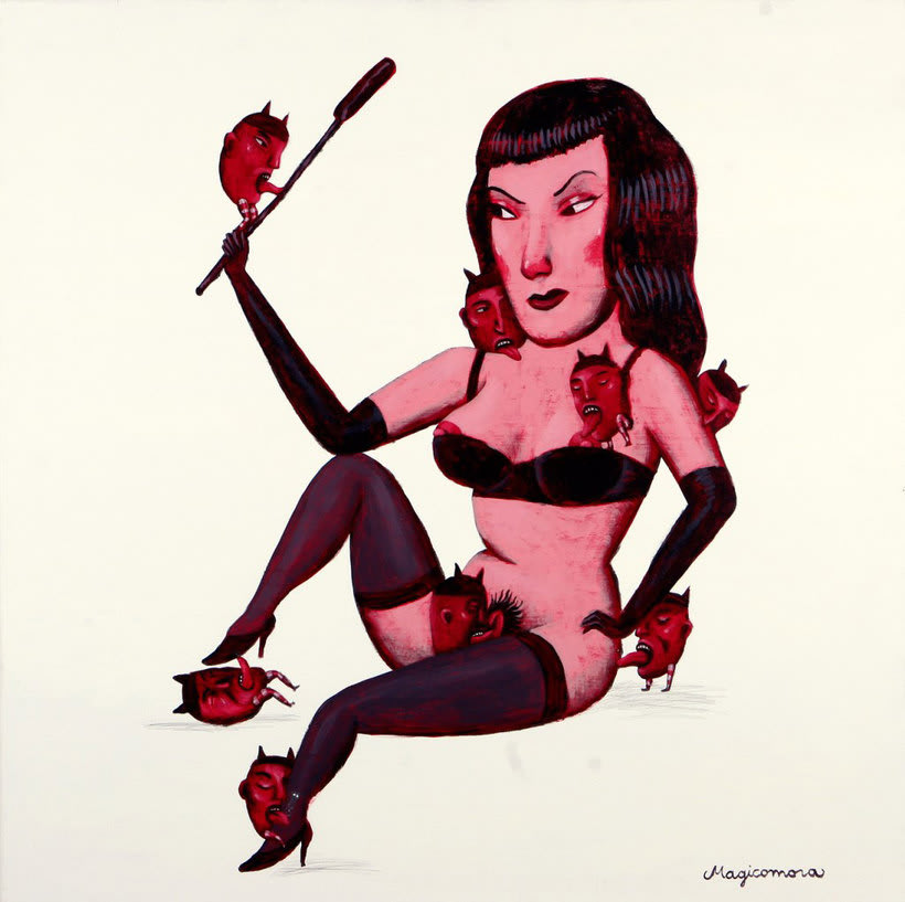 Sergio Mora hace magia ilustrada 13