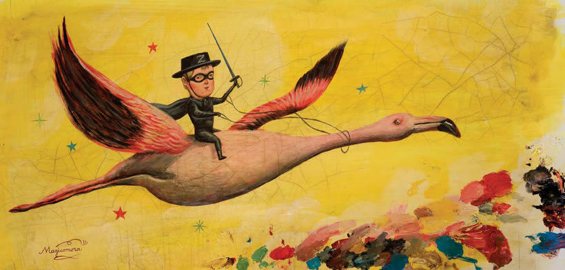 Sergio Mora hace magia ilustrada 16