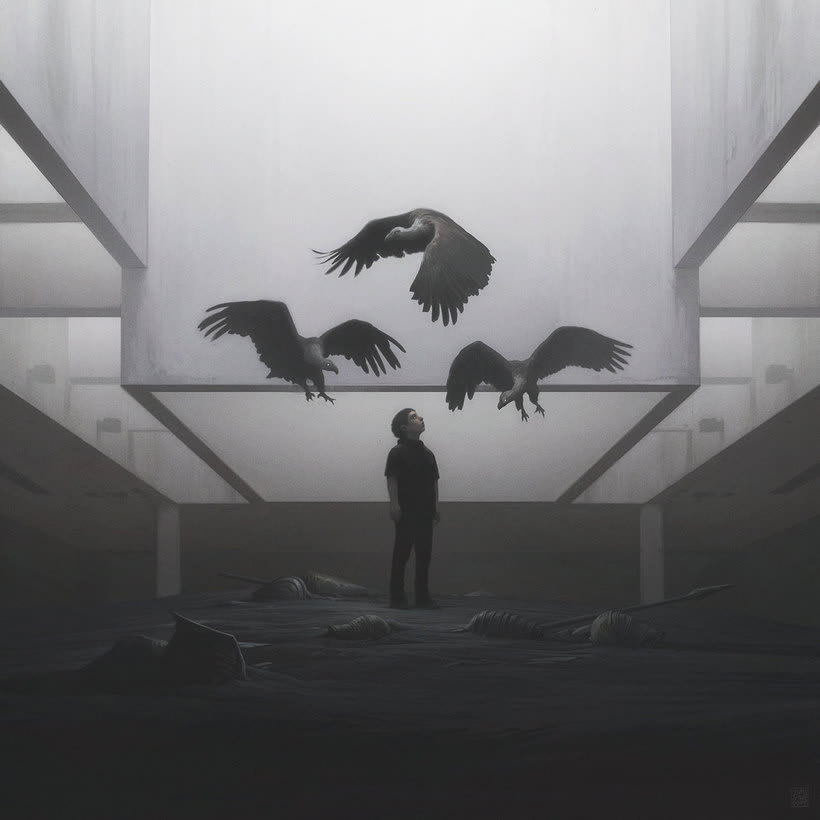 Las ilustraciones de ciencia ficción de Yuri Shwedoff 2