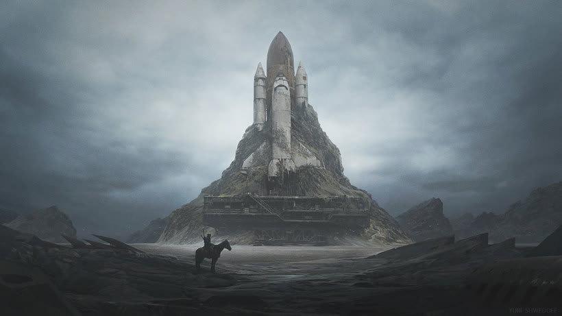 Las ilustraciones de ciencia ficción de Yuri Shwedoff 5
