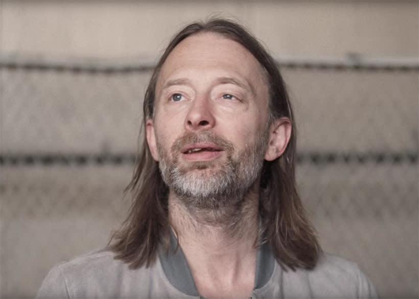 """Thom Yorke, retrato para mi curso """"Retrato ilustrado con Photoshop"""" 3"""