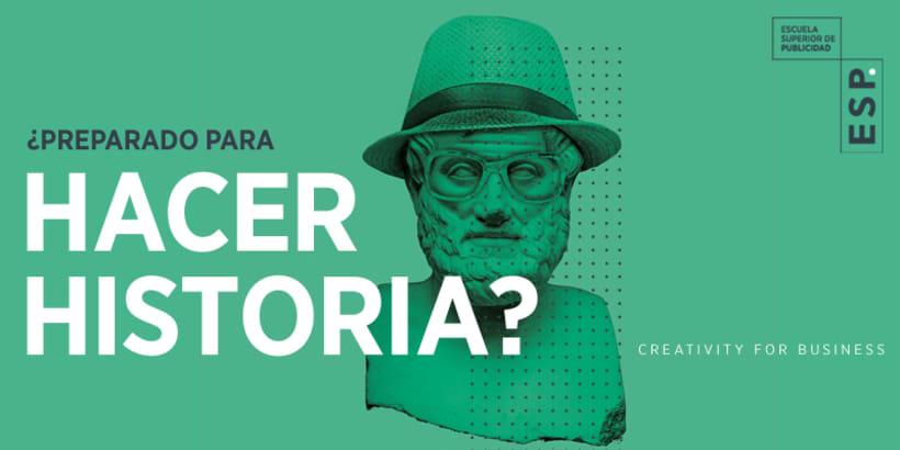 Programa especializado en Creatividad Publicitaria  (Escuela Superior de Publicidad, Madrid) 0