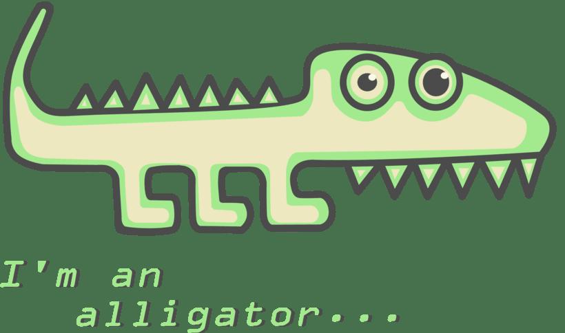 I´m an alligator... -1