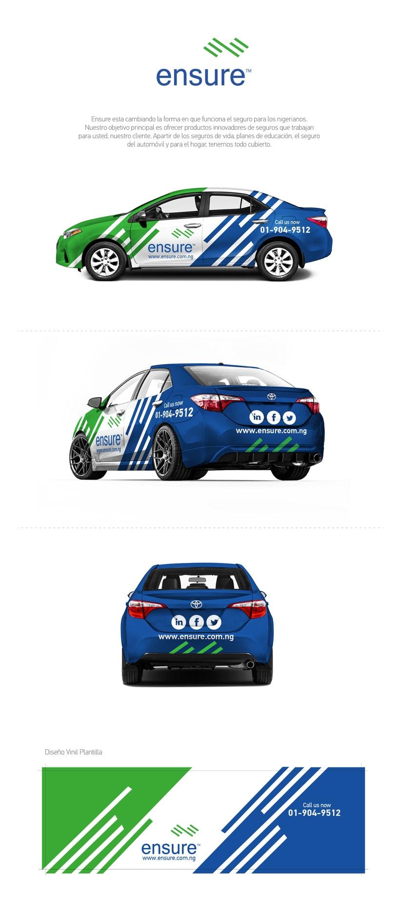 Toyota Corolla Vinyl Car 2