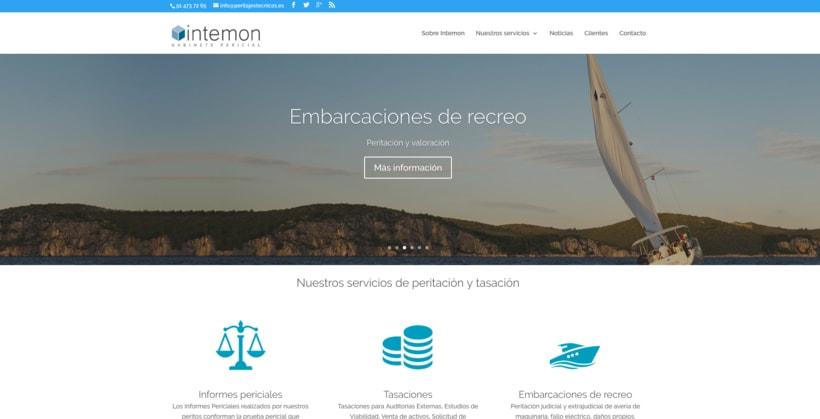 Diseño web con el tema DIVI de WordPress 2