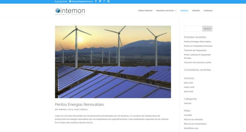Diseño web con el tema DIVI de WordPress 3