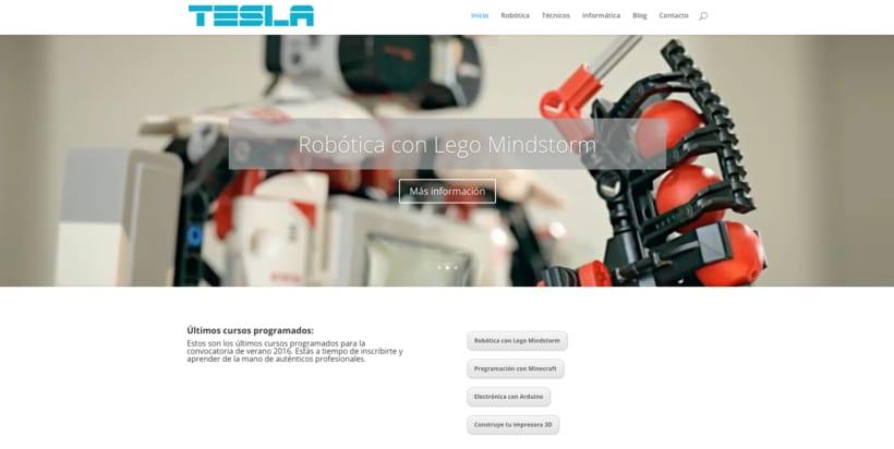 Diseño web con el tema DIVI de WordPress 6