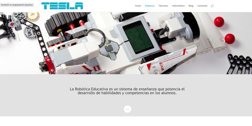 Diseño web con el tema DIVI de WordPress 7