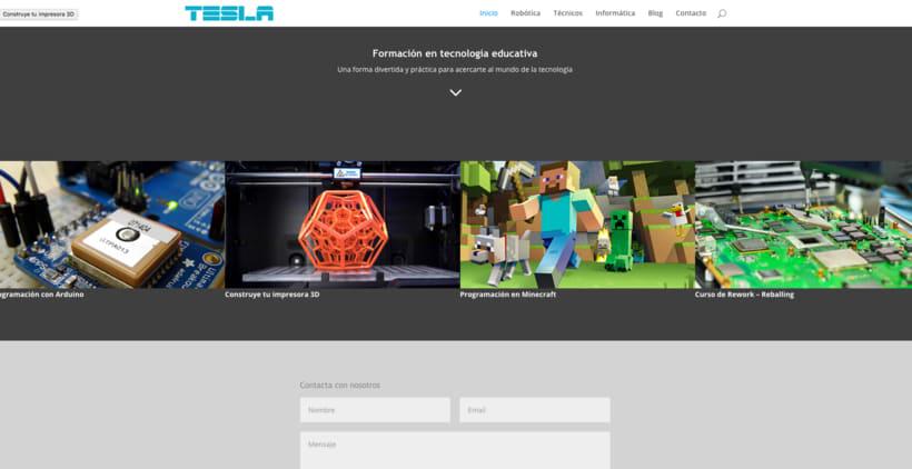 Diseño web con el tema DIVI de WordPress 8