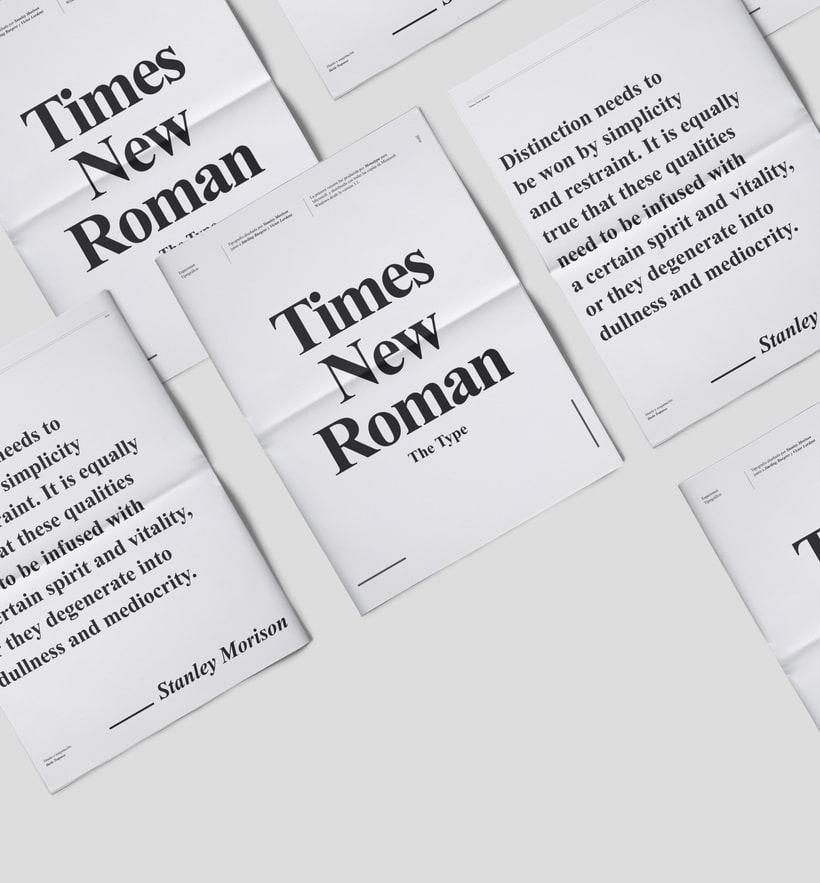 Times New Roman | Specimen 1