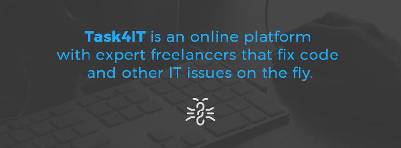 Task4IT - Freelancing Marketplace for Web Artisans 1