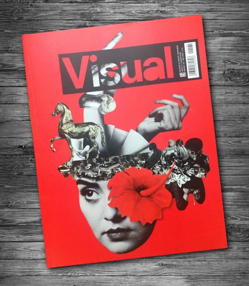Portada para la revista Visual -1