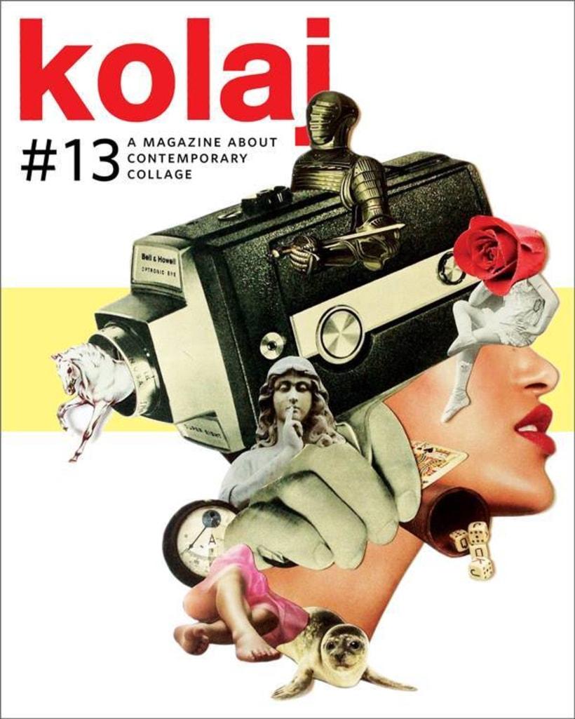 Koala Magazine. Collage para cubiertas y editorial de la revista nº 13 0