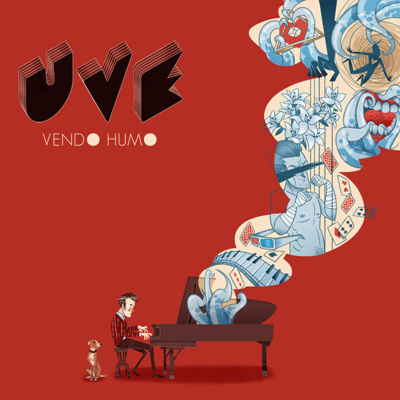 UVE - arte promocional y videoclip 0