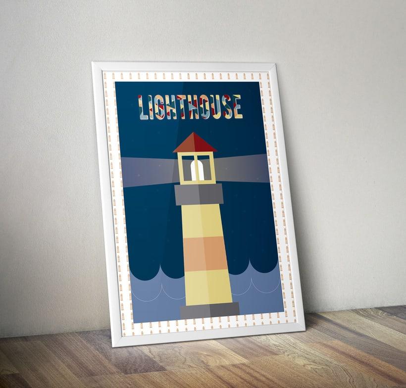 Ilustración Lighthouse -1