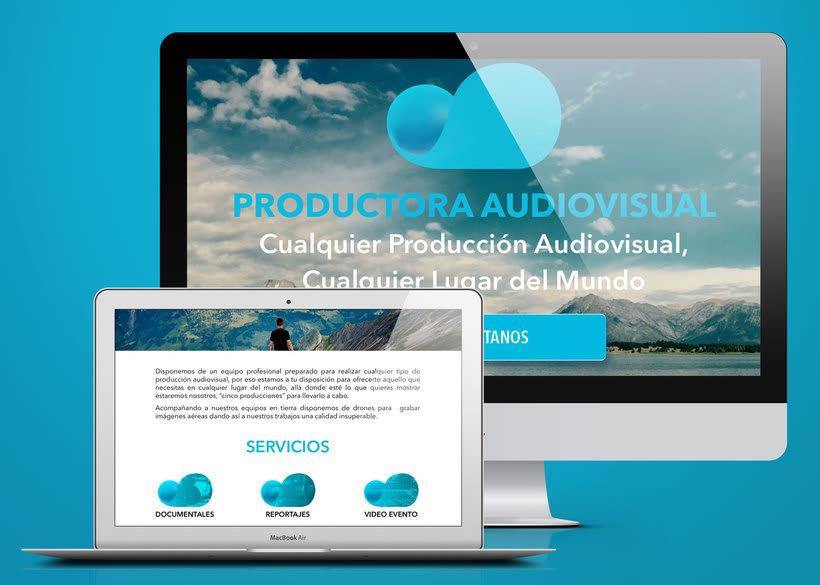 Web Cinco Producciones. Productora Audiovisual 2