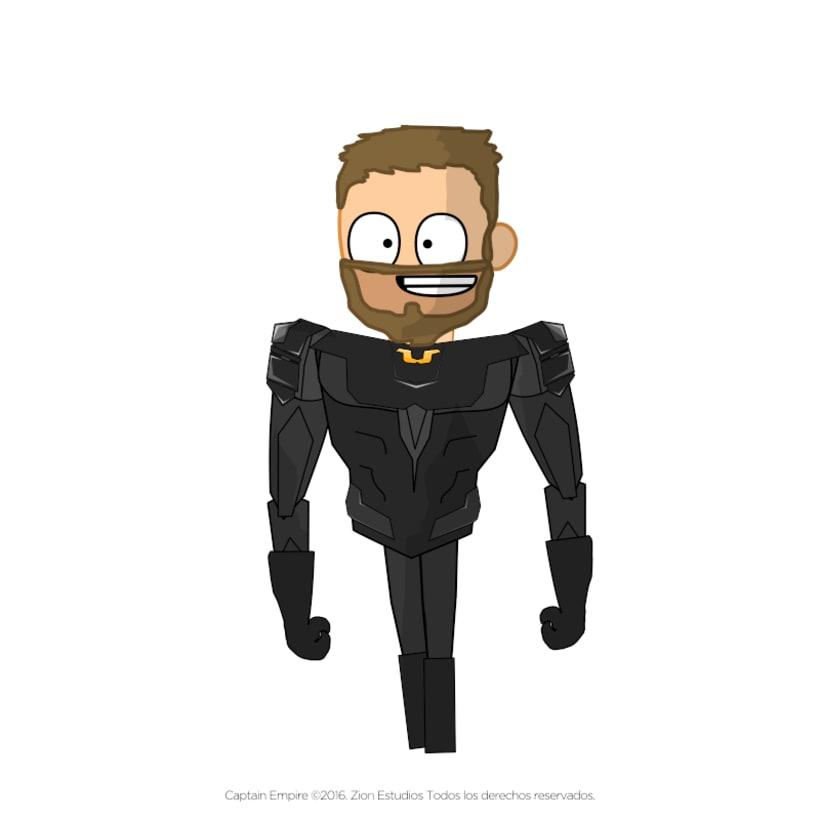 Captain Empire (Proyecto Personal) 4