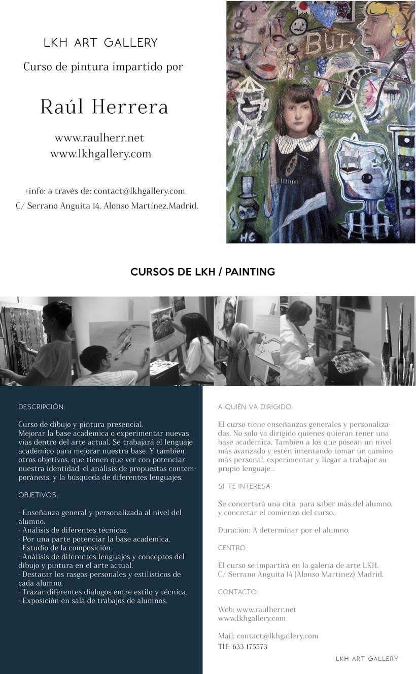 Cursos de Pintura en LKH Creative Studio.  1