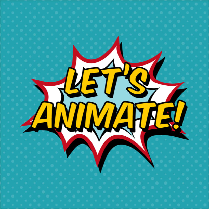 Animación vectorial: texto 0