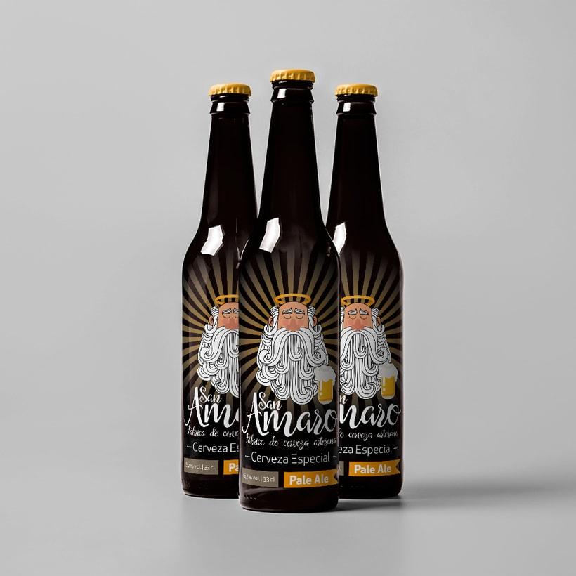 Cerveza Artesana San Amaro 1