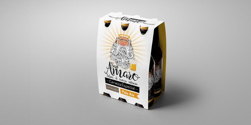 Cerveza Artesana San Amaro 2