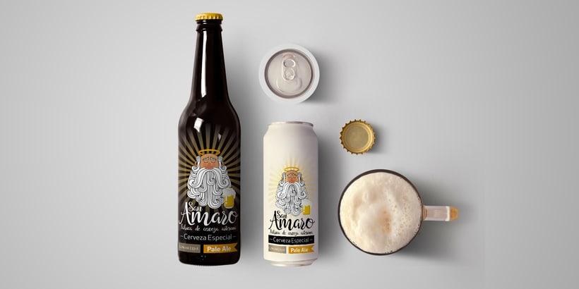 Cerveza Artesana San Amaro 5