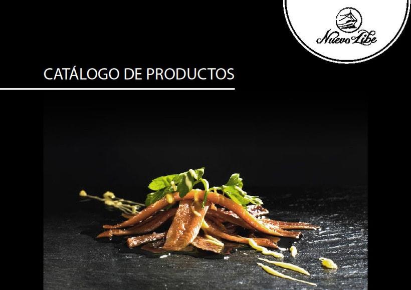Propuesta de catálogo de productos para Nuevo Libe 0