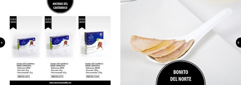 Propuesta de catálogo de productos para Nuevo Libe 4