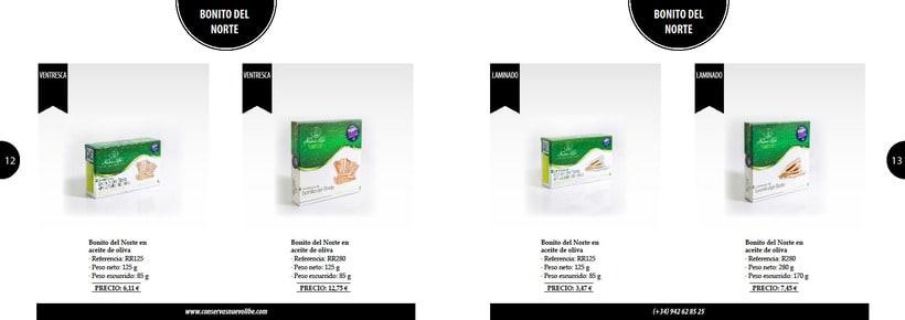 Propuesta de catálogo de productos para Nuevo Libe 6