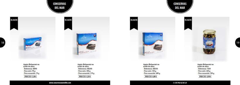 Propuesta de catálogo de productos para Nuevo Libe 9
