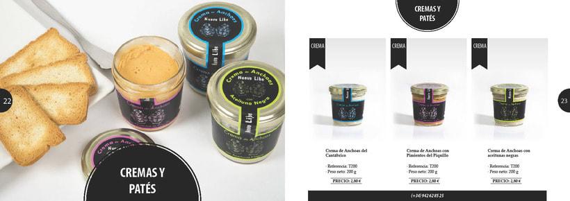 Propuesta de catálogo de productos para Nuevo Libe 11