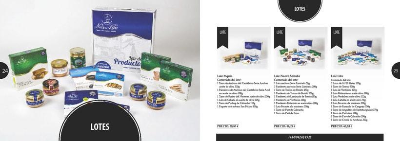Propuesta de catálogo de productos para Nuevo Libe 12