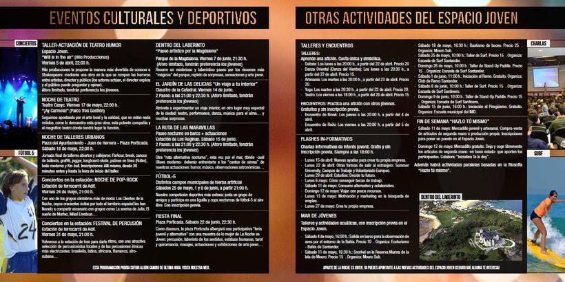 """Propuesta de productos gráficos para la campaña """"La Noche es Joven"""" 8"""