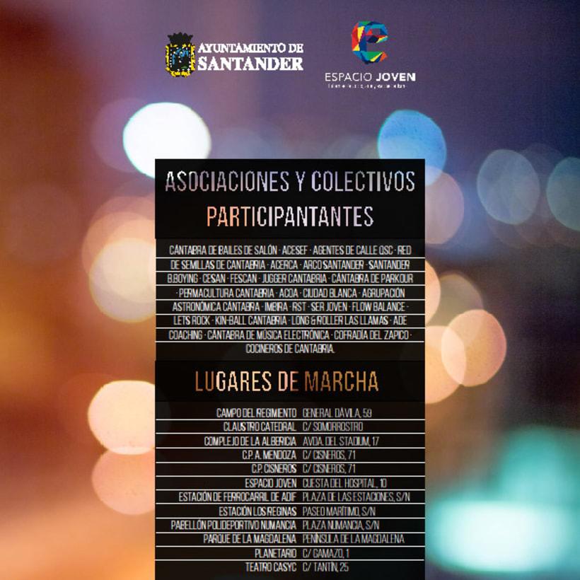 """Propuesta de productos gráficos para la campaña """"La Noche es Joven"""" 9"""