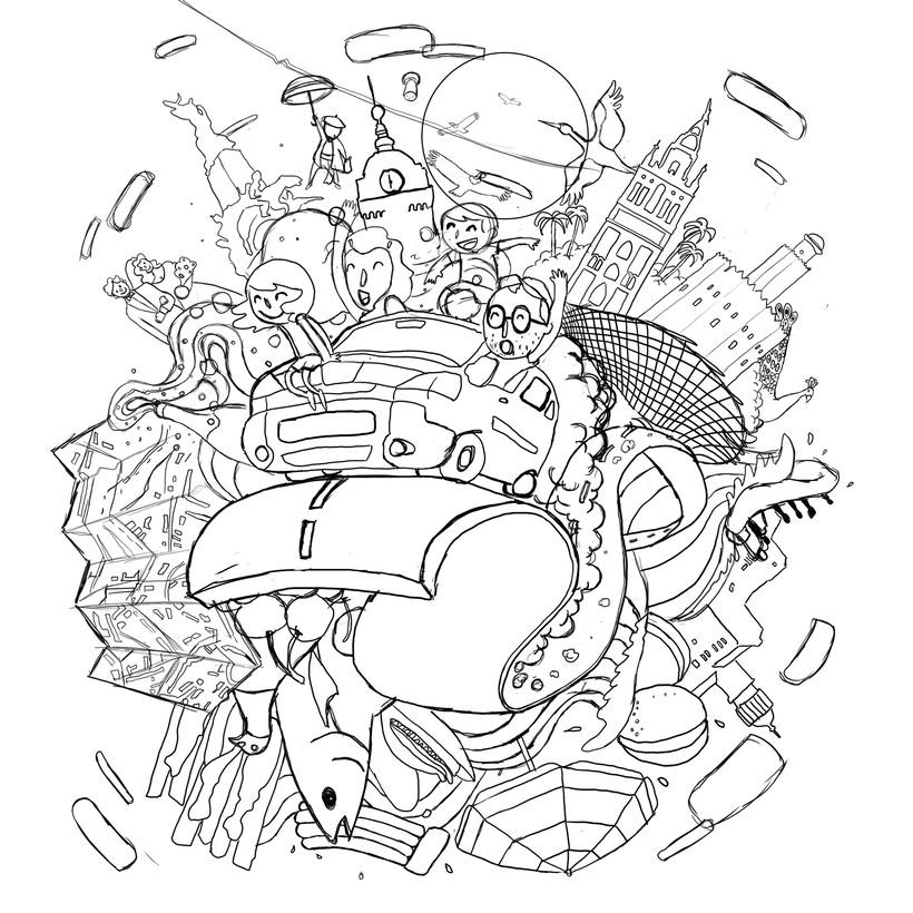 Mi Proyecto del curso: Ilustración exprés con Illustrator y Photoshop 1