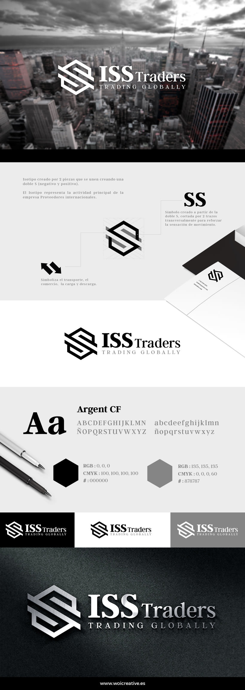 Identidad Visual ISS Traders 0