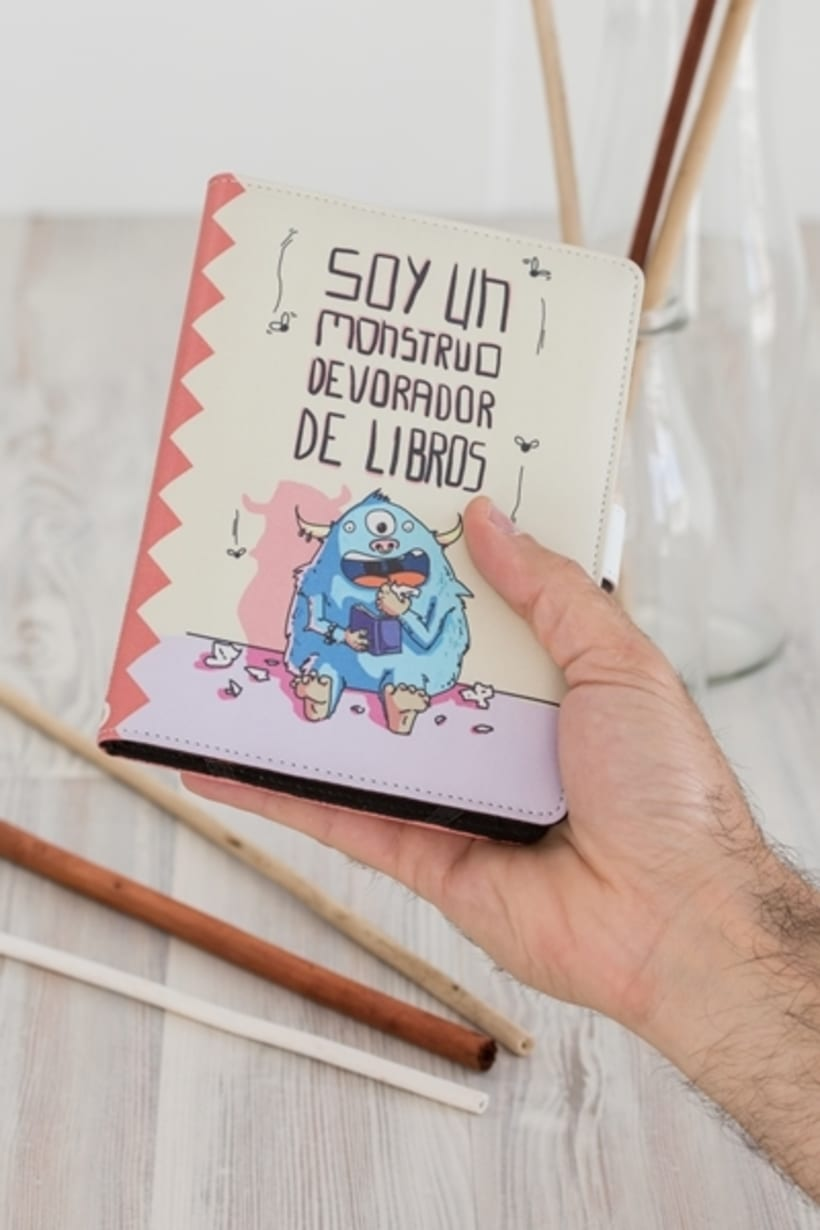 Ilustraciones fundas Kindle 5