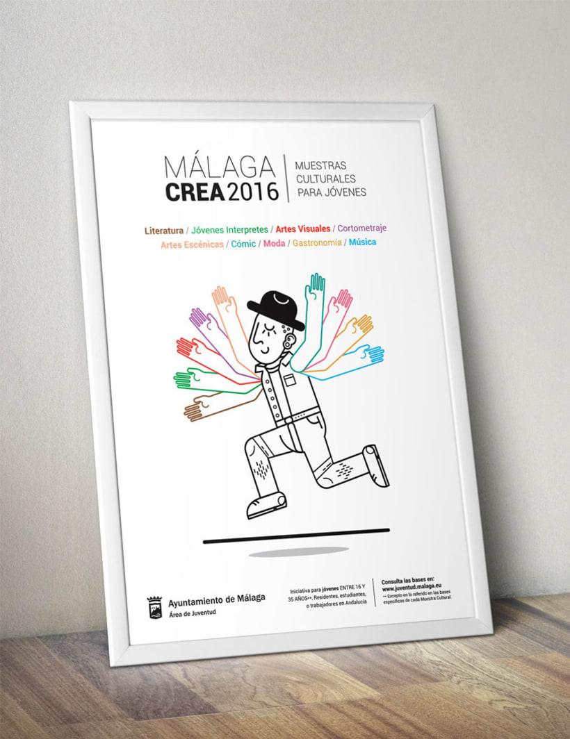 Málagacrea 2016 - Imagen de campaña 1