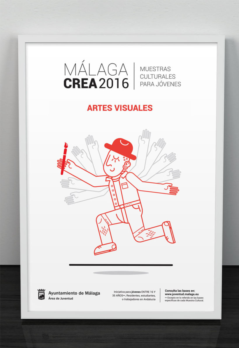 Málagacrea 2016 - Imagen de campaña 2