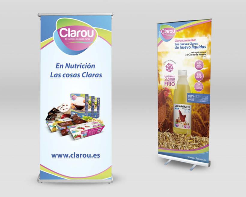 Diseño corporativo y publicitario para Clarou. 10