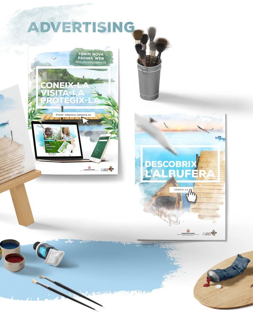 Diseño website - Parque Natural Devesa / Albufera - Ayuntamiento de Valencia 2