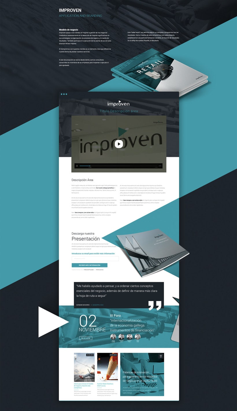 Improven Corporate website 1