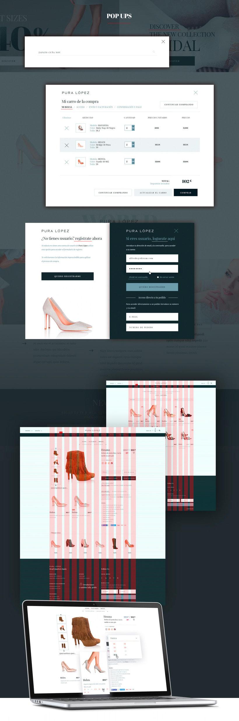 Pura Lopez Luxury fashion shoes E-commerce 1