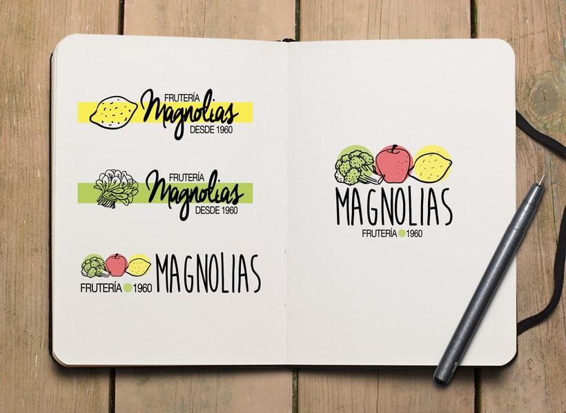 Logotipo para frutería 0